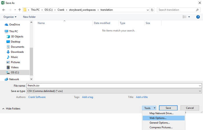 Creating And Editing Translation Content Csv Files